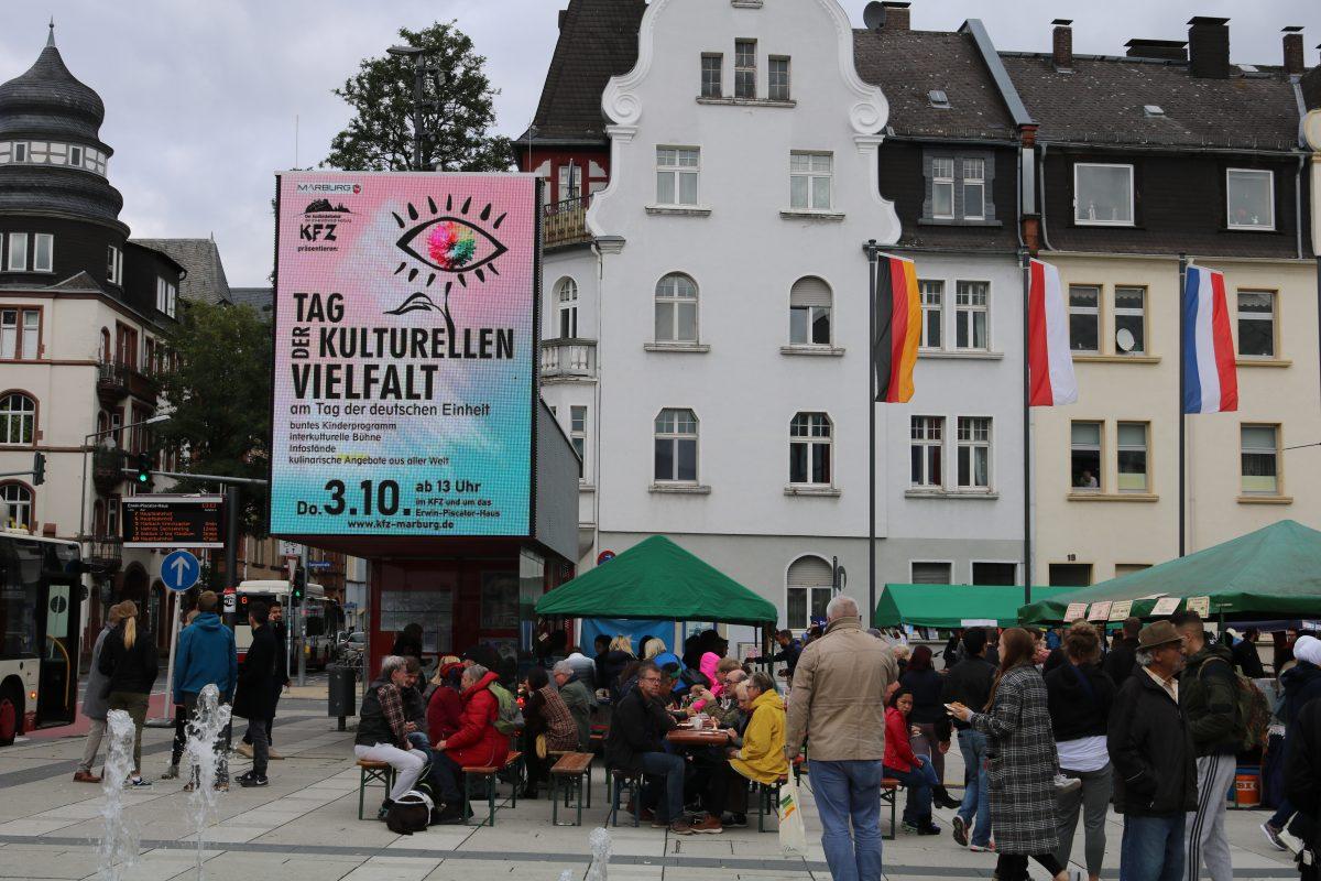 Straßenfest mit Ständen am 3.10.2019