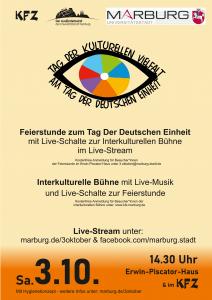 Tag der Deutschen Einheit - Tag der Kulturellen Vielfalt @ Erwin-Piscator Haus/KFZ
